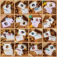 【Mr. Buang 明信片】-台灣 原住民 族群大頭篇-16族 女孩 套組超值價-現貨-質感設計-紀念品/擺設品