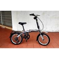 "🔴🍵Oscar Vogue 16"" Inch Folding Bike Basikal Lipat"