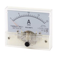 AXA 85C1 DC 0-20A Fine Tuning Dial Current Test Panel Ampere Meter Ammeter - intl