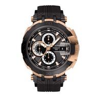 TISSOT天梭 T-RACE MOTOGP 2018限量版機械錶 玫瑰金框*黑 45mm 限量 瑞士錶 T092427