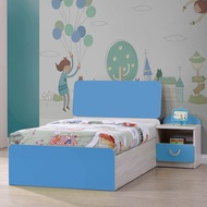 【RICHOME】BE240  活力4件套房組   單人床 兒童床 床頭櫃   衣櫥   書桌   床架