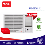 TCL 1.0HP Titan Gold Inverter Grade Window Type Aircon with Remote TAC-09CWR/F