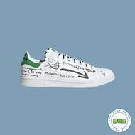 【領券最高折$350】【ADIDAS】STAN SMITH 男鞋 女鞋 休閒鞋 白綠 塗鴉 經典款 GV9800【勝利屋】