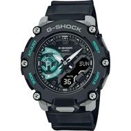 CASIO 卡西歐 G-SHOCK 一起冒險去 碳核心防護構造雙顯計時手錶 GA-2200M-1A