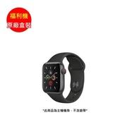 【原廠盒裝】福利品_APPLE Watch 5 LTE Sport 44mm 太空灰鋁錶殼(不含錶帶及充電器)_九成新