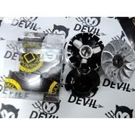 Devil 騎士精品 萬寶 WBO 鐵氟龍 普利盤組 普力盤 壓板 風葉 悍將 FIGHTER JET POWER