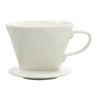 Dolity 1x Pour over Coffee dripper เครื่องชงกาแฟเซรามิกพร้อมฐานสีขาว