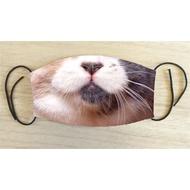 搞笑創意貓嘴臉口罩-三花365