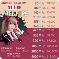 Top Up Diamond FF Free Fire Murah - Legal Via ID