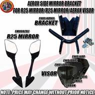 AEROX SIDE MIRROR BRACKET FOR R25 MIRROR/R25 MIRROR/AEROX VISOR