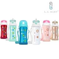 【L.A. Baby】316超輕量保溫保冷兒童水壺 270ml(六色)