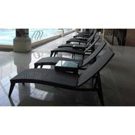 【南洋風休閒傢俱】海灘椅系列-編織躺椅 戶外海灘躺椅 游泳池躺椅 鋁躺椅  666-6