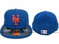Shoestw【5711346-011】MLB 美國大聯盟 NEW ERA 球員帽 大都會隊 寶藍