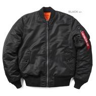 【Brand T】日版 ALPHA INDUSTRIES MA-1 TIGHT版*黑色*合身窄版*飛行外套*MA1
