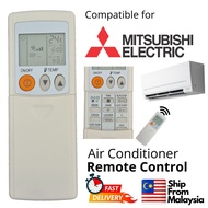 Mitsubishi Electric Aircond remote for PAR-FL32MA PAR-FA32MA PEAZ-RP50AA2-S GR50MBP2 MSY/MUY-GJ10VA