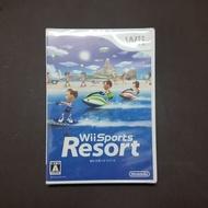 日本帶回 全新原版 Wii 運動 度假勝地 渡假勝地 日版 正版 原裝 遊戲