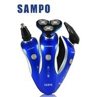 【SAMPO 聲寶】水洗式3D浮動三刀頭電動刮鬍刀(鼻毛/鬢角/刮鬍刀) EA-Z1901WL