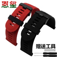 Silicone watch strap suitable for Garmin Fenix ​​3 strap Garmin Fenix3 waterproof sports rubber stra