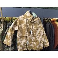 降價促銷 英國 迷彩 軍外套 防水 沙漠 迷彩 gore-tex 防風外套