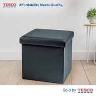 Tesco Foldable Storage Ottoman - Grey