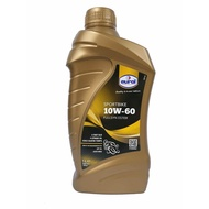 EUROL SPORTBIKE MOPED 10W60 FULLY SYNTHETIC ESTER MOTORCYCLE ENGINE OIL