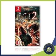 Attack on Titan 2 (AOT 2) Nintendo Switch game (เกมส์ Nintendo Switch)(ตลับเกมส์Switch)(แผ่นเกมส์Switch)(ตลับเกมส์สวิต)(A.O.T. 2 Switch)