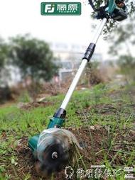 鬆土機 藤原鬆土機小型菜地家用微耕機翻土機農用工具耕地機輕便電動鋤頭 爾碩LX