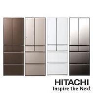 【HITACHI 日立 日本原裝六門琉璃變頻電冰箱】RHW530JJ / R-HW530JJ 527L