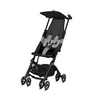 【現折1000元,折後$6200】美國 GB Pockit Air折疊口袋嬰兒手推車/口袋推車(黑色) _好窩生活節