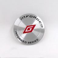 臺灣inforged輪蓋貼 輪轂標 45MM輪轂標 60mm平面輪轂貼 IFG輪標