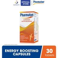 Pharmaton Multivitamin Capsule for energy, stamina with multivitamin mineral 30s