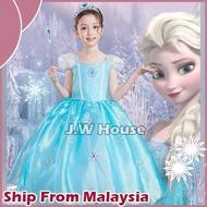 Frozen Princess Elsa Costume For Kid's Elsa Dress