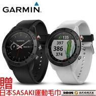 (領券再享折扣)【H.Y SPORT】GARMIN Approach S60 高爾夫GPS腕錶 爵士白 紳士黑 贈日本SASAKI運動毛巾