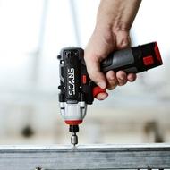 電動螺絲刀 朝能12V充電式衝擊起子機SC2121手鑽家用電動螺絲刀多功能手電筒鑽『MY4719』