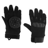 สเก็ตบอร์ด Longboard สไลด์ถุงมือเต็มนิ้ว Pucks ขนาดมาตรฐานสำหรับ Downhill และ Freeride Full Finger ถุงมือสเก็ตบอร์ด