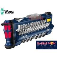 "EJ工具《附發票》德國 Wera Tool-Check PLUS Red Bull 1/4"" 迷你棘輪 扳手 39件組"