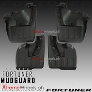 Toyota Fortuner 2016-2022 Black Front and Rear Mudguard / Mud guard / Mud flaps ( Fortuner Mudguard 2016 2017 2018 2019 2020 2021 ) ( Fortuner Accessories )