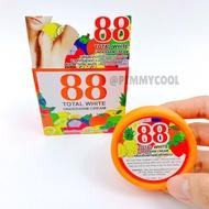 ✹❁☈  ครีมรักแร้ขาว 88 Total White Underarm Cream ครีมปรับสภาพผิวรักแร้ขาว