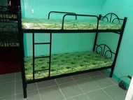 DOUBLE DECK BED FRAME WITH 2 PCS FOAM