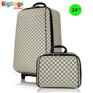 【cw】for กระเป๋าเดินทางเซ็ทคู่ 24นิ้ว/14 นิ้วNew luxury รุ่น MZ998