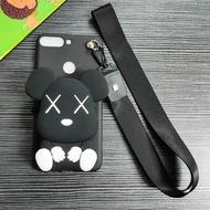 360N6 Phone Case 360 N7 Youth Version N7pro Cartoon Change Purse 360N7Lite with Lanyard N6pro Soft