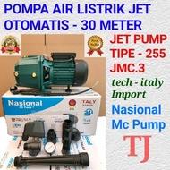 BISA COD !!! POMPA AIR OTOMATIS JETPUMP SUMUR DALAM JET PUMP NASIONAL 255-30 METER Mesin Jet Pump-Jet Pump 30 meter-mesin pompa air jet pump-jet pump shimizu 30 meter