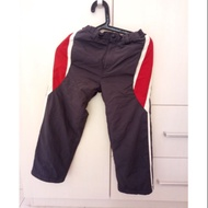 二手男童bossini130公分防風防水可調腰圍雪褲