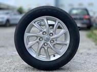 @台中流當車業@FORTIS原廠16吋鋁圈5x114/6.5J/ET27.瑪吉斯輪胎205/60R16九成新.整組不拆賣
