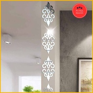 Mirror Wall Stickers Home Decoration Acrylic Mirror Sticker 10pcs Wall Decoration Walpaper Wallpaper