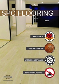 FLOORING SPC 4MM SNOW ICE - 8806