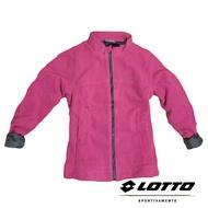 義大利第一品牌-LOTTO樂得 女款刷毛保暖外套 保暖1級 [65720] 桃粉【巷子屋】