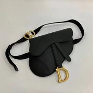 【Go時尚】DIOR Saddle ultra mat 全黑 馬鞍小牛皮 迪奧 腰包 胸包