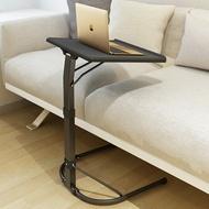簡易電腦桌懶人桌床上桌筆記型電腦桌摺疊桌床邊桌好收納折疊沙發桌-黑/藍/綠【AAA5340】