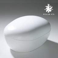 POLAR ICE 極地冰盒 - 卵石系列 (白色) -《威士忌冰球製造》